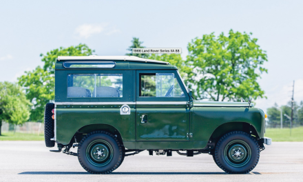 The Dalai Lama's Land Rover