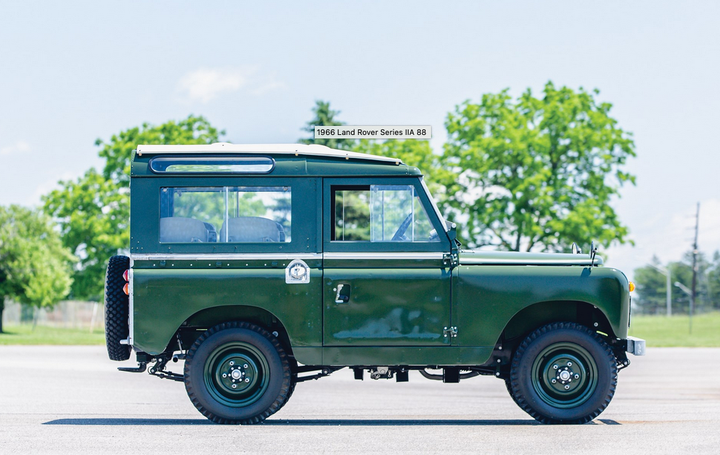 The Dalai Lama's Land Rover