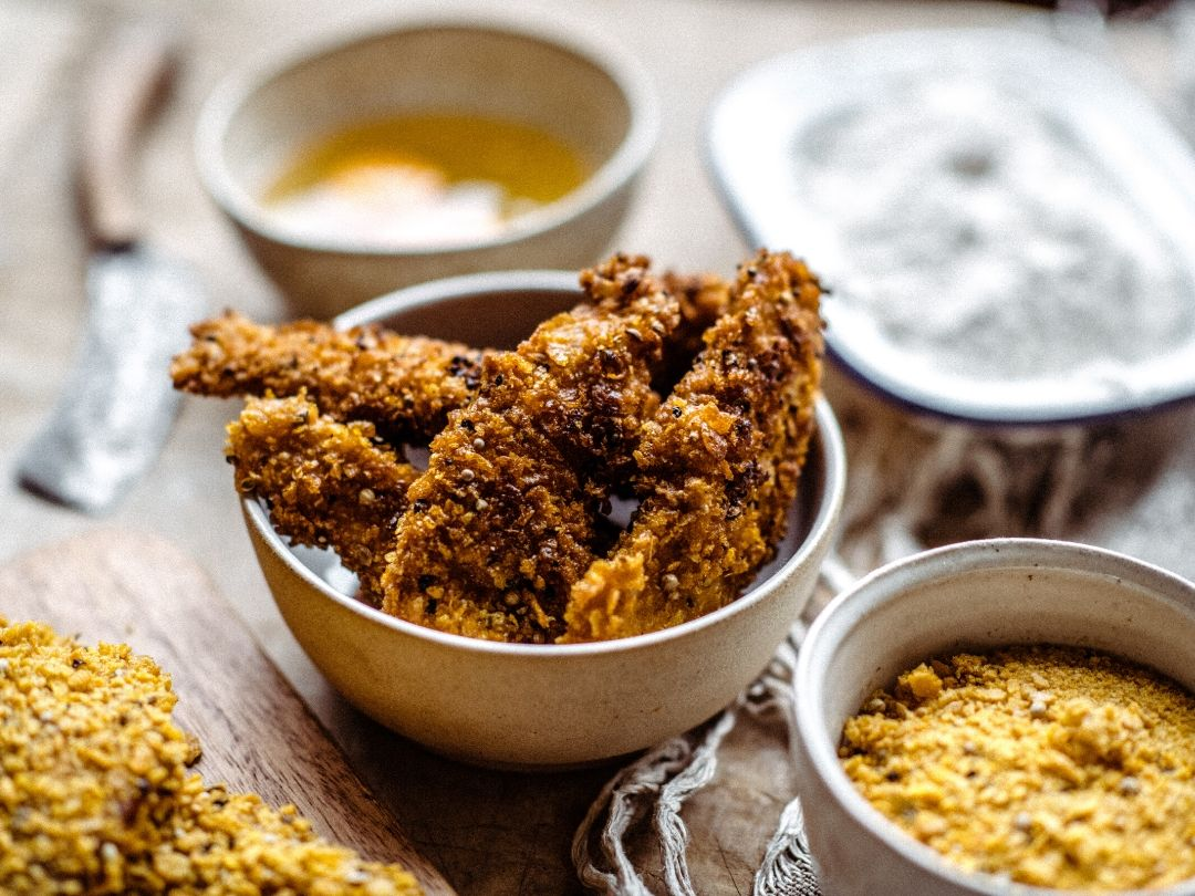 Pheasant KFC Style