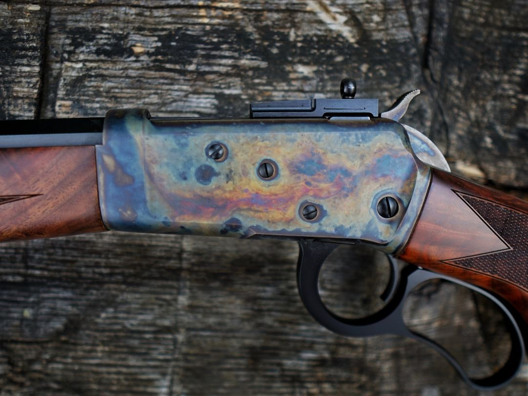 Big Horn Armory's vintage case colored action.