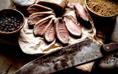 How to Hot Smoke a Duck Breast