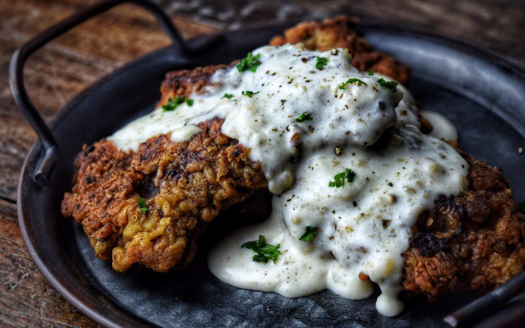 Chicken Fried Venison Steak & Gravy
