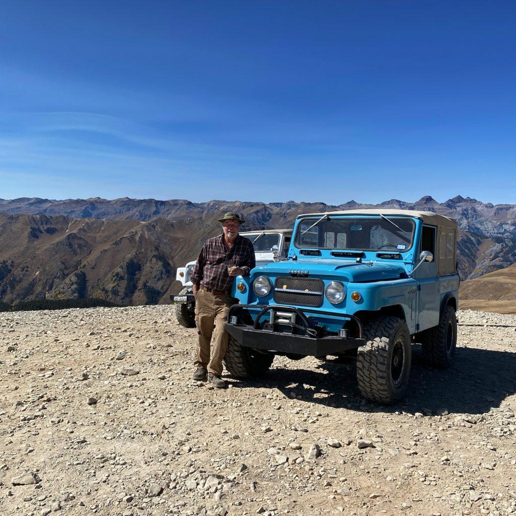 Patrolling the Alpine Loop.